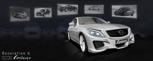 OMG Tuning: Lorinser socheaza cu modificarile aplicate noului Mercedes S-Class