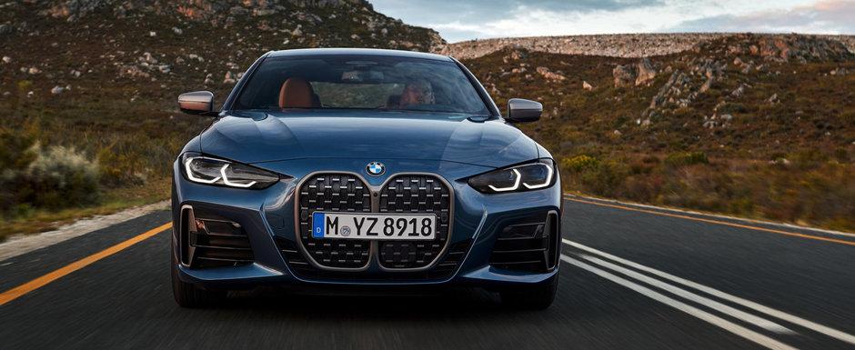 """Omul care a desenat primul BMW X5 critica grila noului Seria 4 Coupe: """"Pentru mine arata ca..."""""""