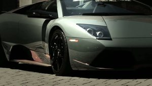 One of a kind: Lamborghini Murcielago LP650-4 Roadster negru mat!