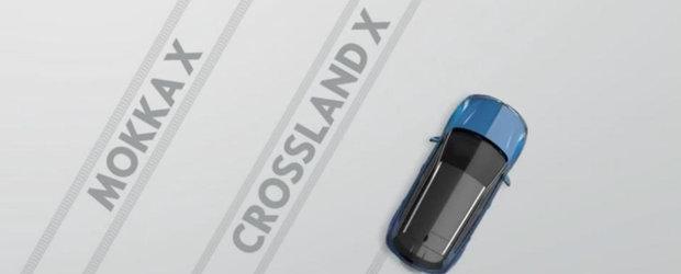 Opel a prins drag de crossovere. Dupa Crossland X, nemtii pregatesc Grandland X