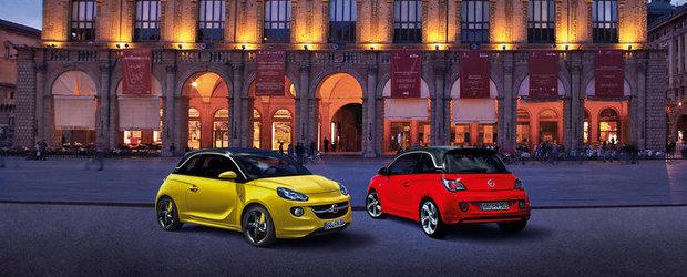 Opel ADAM imbina moda si tehnologia la debutul pe piata italiana
