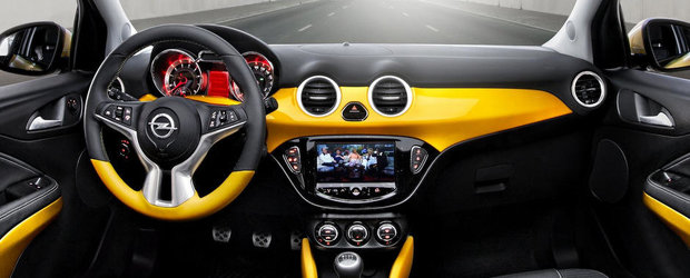 Opel Adam primeste premiul pentru cel mai reusit interior