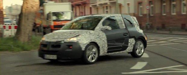 Opel Adam - Primul teaser oficial