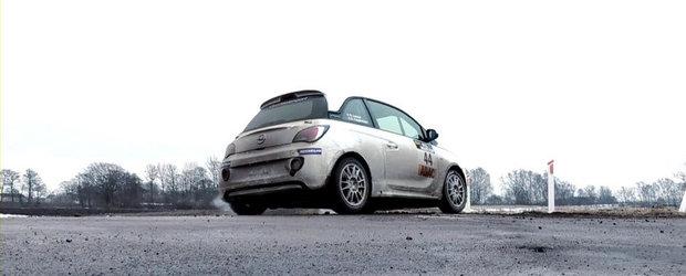 Opel Adam Rally Cup ia cu asalt drumurile de tara din Germania. VIDEO AICI!