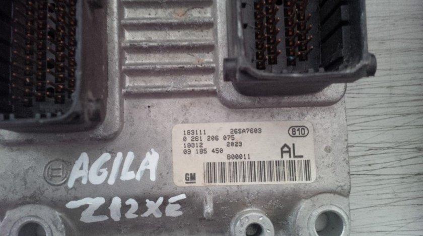 opel agila z12xe 09185450AL BOSCH 0261206075