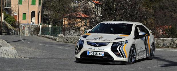 Opel Ampera Castiga Raliul Monte Carlo