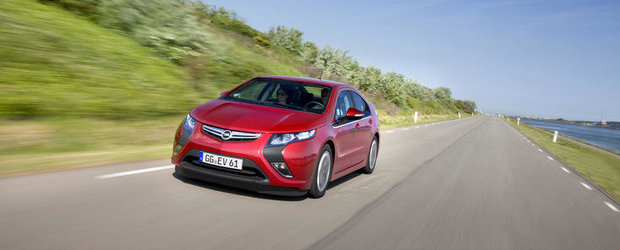 Opel Ampera, cel mai bine vandut automobil electric de pasageri din Europa