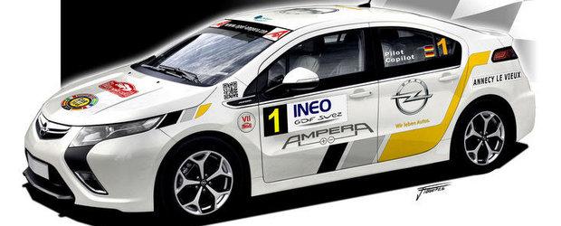 Opel Ampera, debut la Raliul de la Monte Carlo