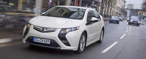 Opel Ampera, disponibil pe piata de inchirieri zilnice prin Europcar
