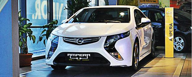 Opel Ampera, masina electrica cu autonomie extinsa, a fost lansata la dealerul Di-Bas