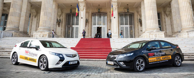 Opel Ampera, masina oficiala TEDx Bucharest