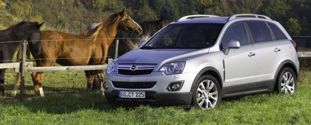 Opel Antara: Dinamicul model crossover a fost actualizat si modernizat