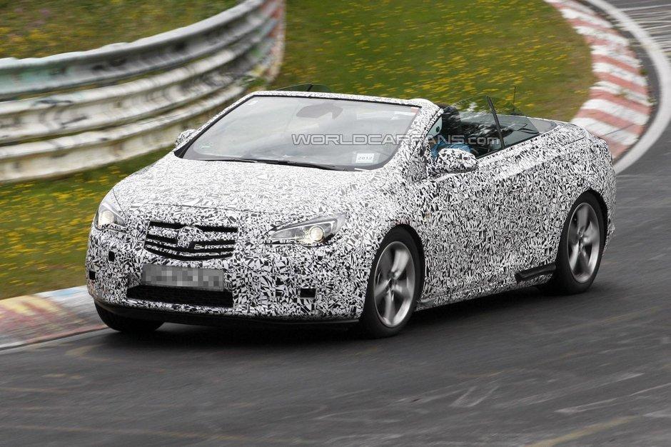 Opel Astra Cabrio - Video Spion