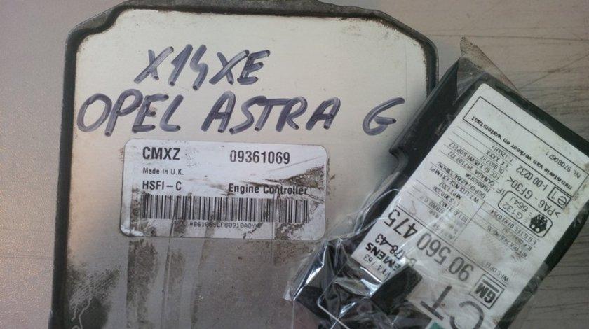 opel astra g 1.4 16v x14xe CMXZ 09361069