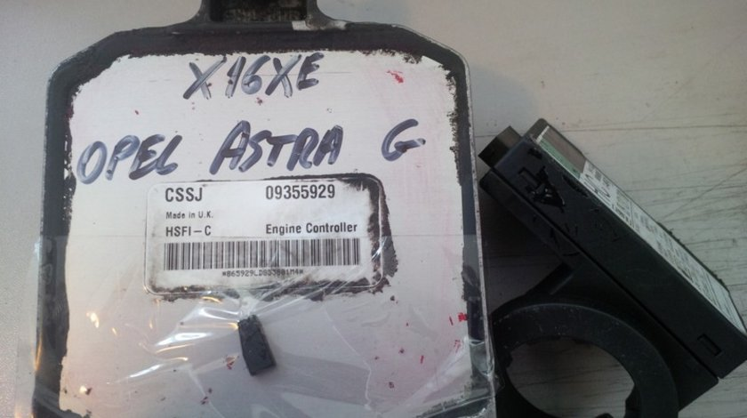 opel astra g 1.6 16v x16xe CSSJ 09355929