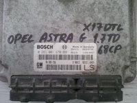 opel astra g 1.7td x17dtl 90589736LS BOSCH 0281001670