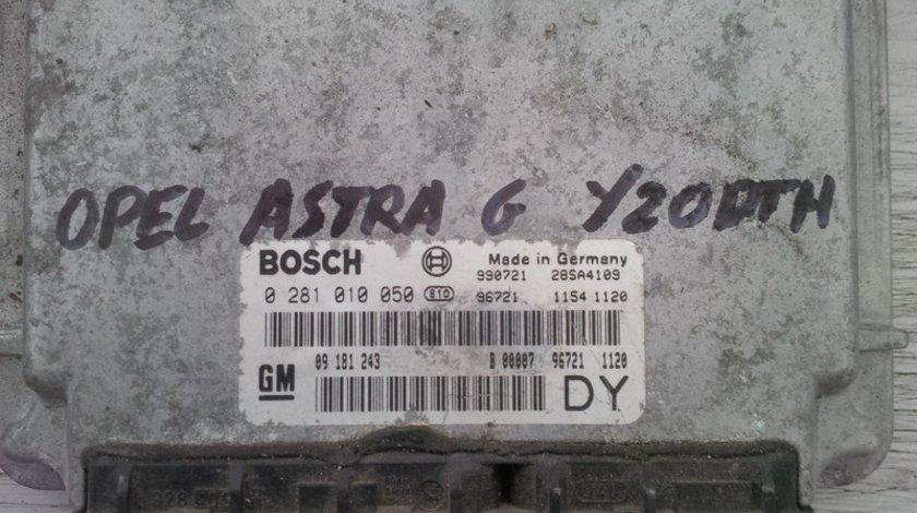 opel astra g 2.0dti y20dth 09181243DY BOSCH 0281010050