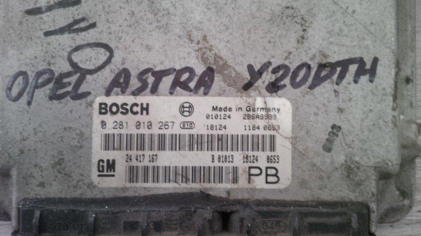 opel astra g 2.0dti y20dth 24417167PB BOSCH 0281010267