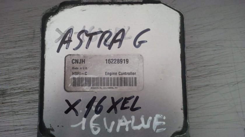 opel astra g  x16xel CNJH 16228919
