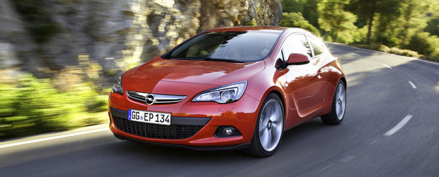 Opel Astra GTC castiga premiul red dot pentru design