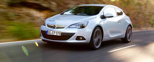Opel Astra GTC primeste un nou motor turbodiesel