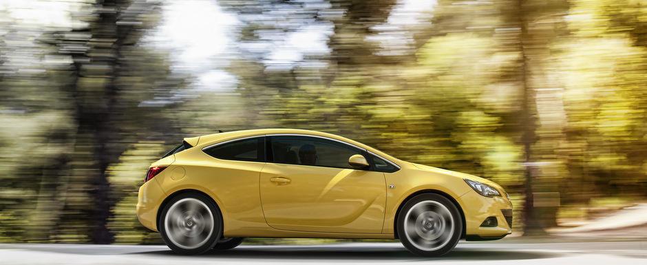 Opel Astra GTC se innoieste cu un 1.6 turbo de 200 cai putere