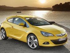 Opel Astra GTC si Zafira