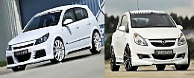 Opel Astra H & Corsa D modificate de Rieger