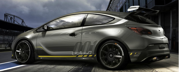 Opel Astra OPC Extreme, noutatea nemtilor pentru Salonul Auto de la Geneva