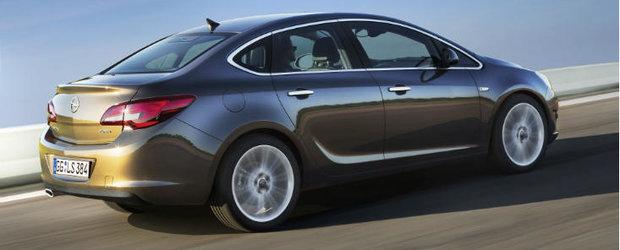 Opel Astra Sedan 2012: Opel celebreaza patru premiere mondiale la Moscova
