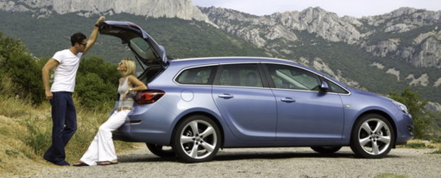 Opel Astra Sports Tourer - Un station wagon compact atletic