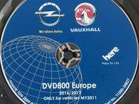 OPEL CD500 DVD800 NAVI HARTA NAVIGATIE ROMANIA 2017 INSIGNIA ASTRA J MERIVA