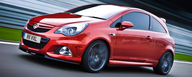 Opel Corsa OPC Nurburgring Edition are 210 cp