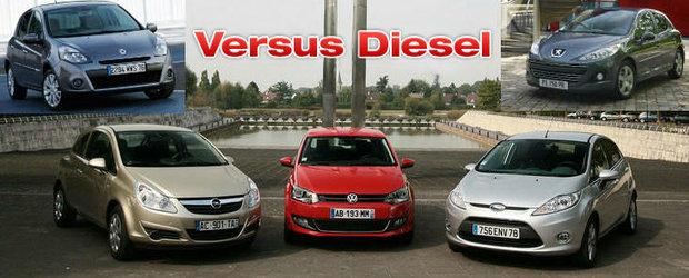 Opel Corsa vs. Ford Fiesta vs. VW Polo vs. Renault Clio vs. Peugeot 207