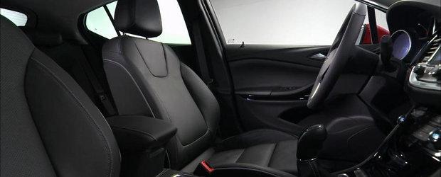 Opel detaliaza caracteristicile noilor scaune de Astra