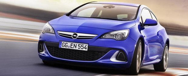 Opel echipeaza noul Astra OPC cu sistem de telemetrie