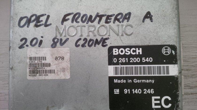 opel frontera 2.0 c20ne 91140246EC BOSCH 0261200540