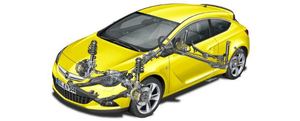 Opel GTC Astra, sasiu exclusivist de inalta performanta