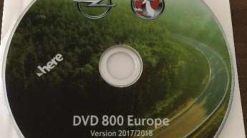 OPEL Harta navigatie CD500 DVD800 MY2011 Astra Insignia Meriva 2018