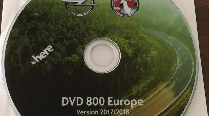 OPEL Harta navigatie CD500 DVD800 MY2011 CD DVD 2017/2018