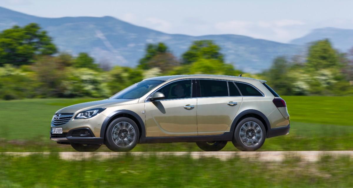 Opel Insignia Country Tourer - Opel Insignia Country Tourer