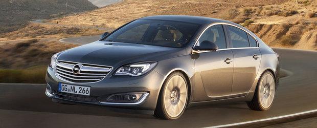 Opel Insignia Facelift - Primele imagini oficiale