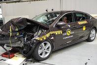 Opel Insignia la EuroNCAP