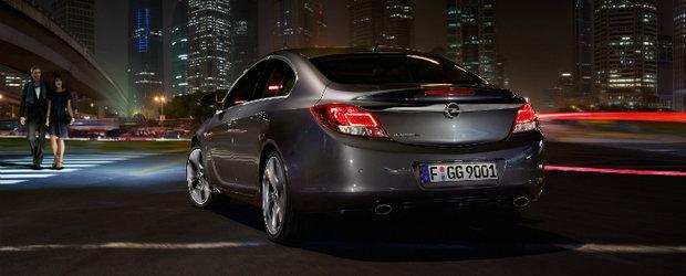 Opel Insignia, model 2012: motorizari noi si functii premium