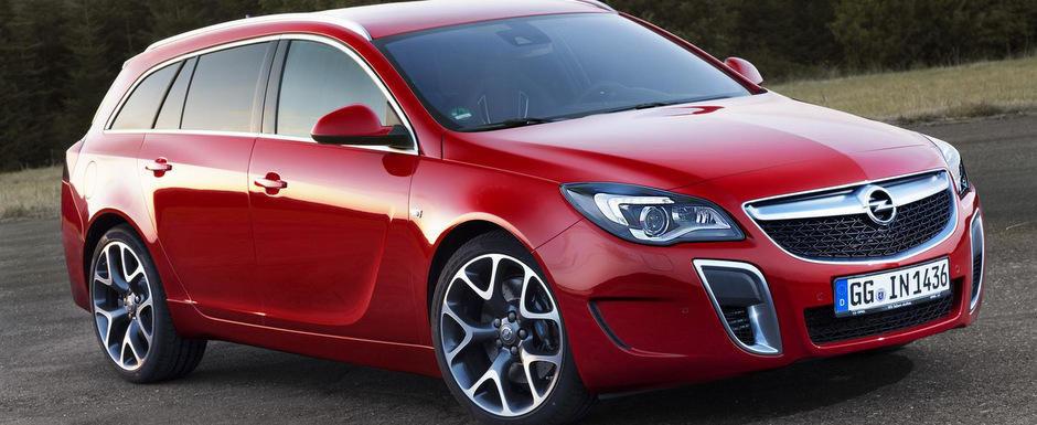 Opel Insignia OPC primeste mici modificari pentru Frankfurt Motor Show