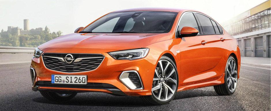 Opel invie emblema GSi. Cat costa in Romania prima masina din noua serie