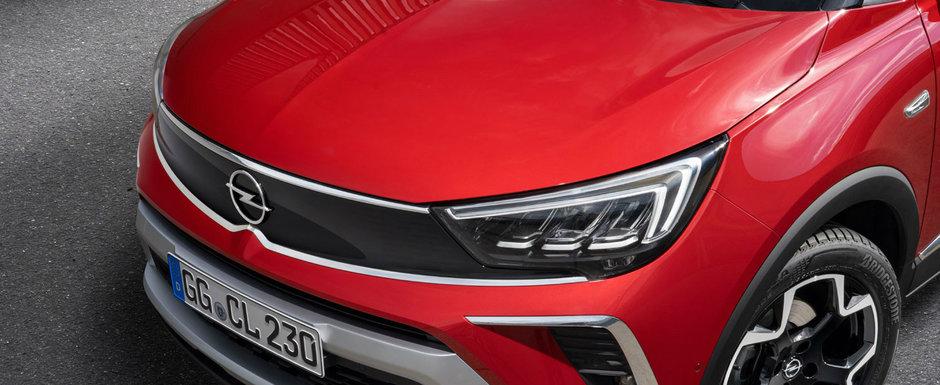 Opel lanseaza noul Crossland facelift si vrea sa te convinga ca este mai bun decat Renault Captur