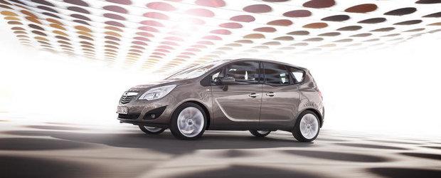 Opel Meriva, acum cu motor pe benzina si transmisie automata