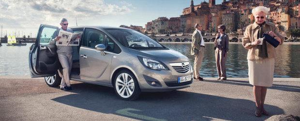 Opel Meriva, lider datorita ergonomiei si flexibilitatii exclusiviste