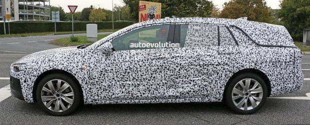 Opel mizeaza pe imaginea viitorului Insignia Sport Tourer. Spatiul de incarcare trecut in plan secund